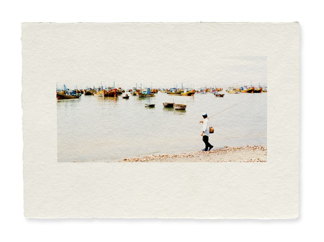 Tirage photo sur Awagami Bizan white medium 200g, impression photo papier japonais © Yvon HAZE