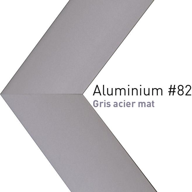 encadrement baguette aluminium n 82 cadre sur mesure des atelier artdeqo. Black Bedroom Furniture Sets. Home Design Ideas