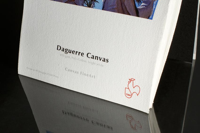 Toile Daguerre Canvas 400g Hahnemühle