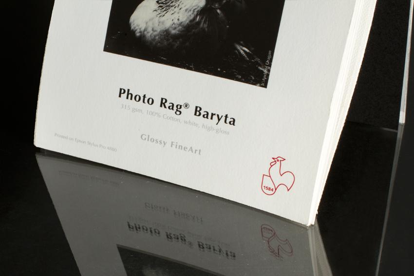 Hahnemühle PhotoRag Baryta 315g